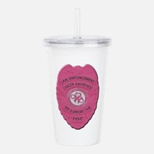 Funny Arrested Acrylic Double-wall Tumbler