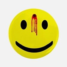 "Dead Smiley 3.5"" Button (100 pack)"
