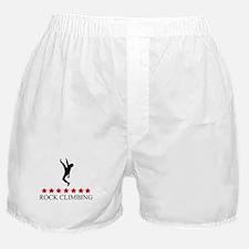 Rock Climbing (red stars) Boxer Shorts