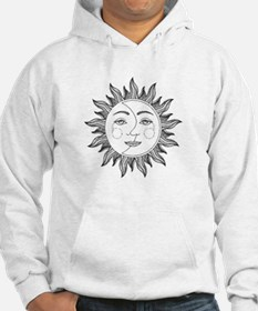 Funny Moon and sun Hoodie