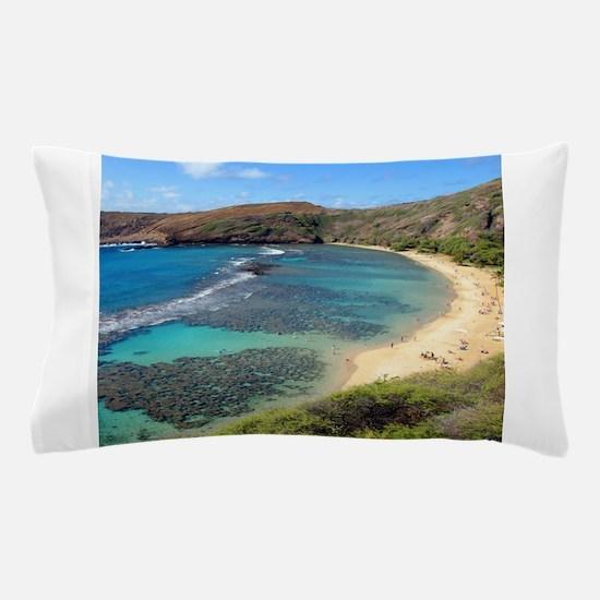 Hanauma Bay Hawaii Pillow Case