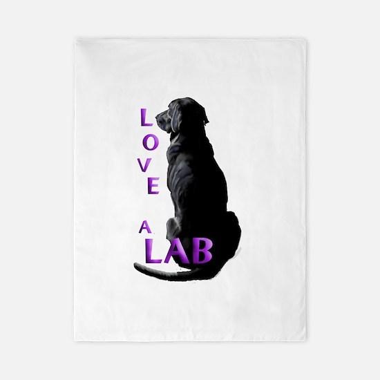Love a Lab Twin Duvet