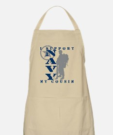 I Support Cousin 2 - NAVY BBQ Apron
