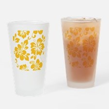 Cute Hawaiian Drinking Glass
