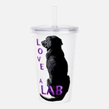 Love a Lab Acrylic Double-wall Tumbler