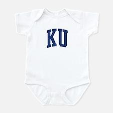 KU design (blue) Infant Bodysuit