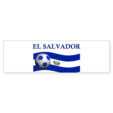 TEAM EL SALVADOR WORLD CUP Bumper Sticker