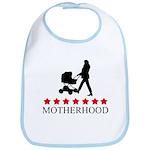 Motherhood (red stars) Bib