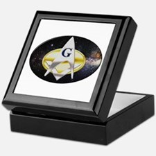 Futuristic Freemason Keepsake Box