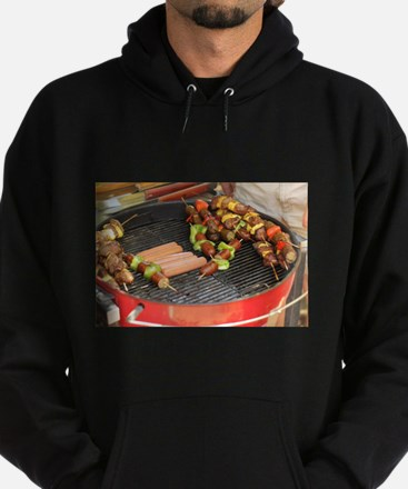 barbeque grill with with hot dogs and s Sweatshirt