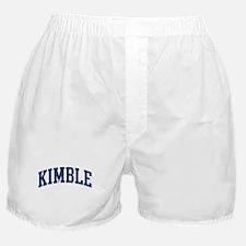 KIMBLE design (blue) Boxer Shorts