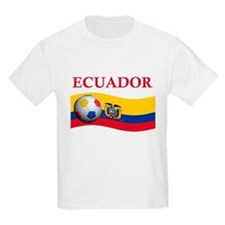 TEAM ECUADOR WORLD CUP T-Shirt