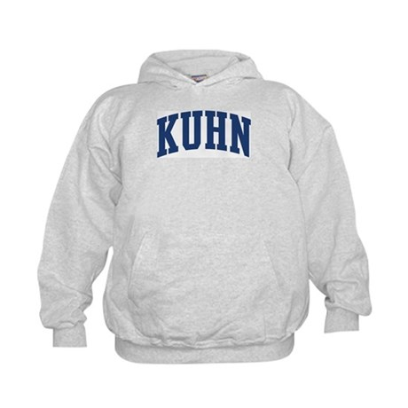 KUHN design (blue) Kids Hoodie