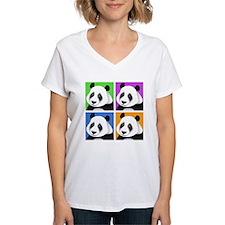 Panda Bear Squares Shirt