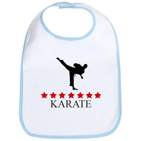 Karate (red stars) Bib