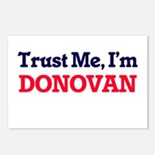 Trust Me, I'm Donovan Postcards (Package of 8)
