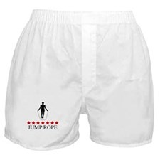 Jump Rope (red stars) Boxer Shorts