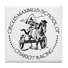 Chariot Racing Tile Coaster