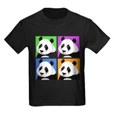 Panda Bear Squares T