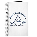 Don't Be Scared Shark Journal