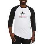 Hurdling (red stars) Baseball Jersey