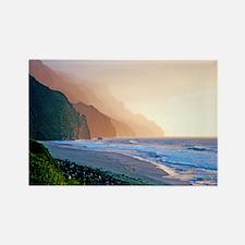 Sunset Kalalau Beach Rectangle Magnet