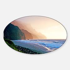 Sunset Kalalau Beach Decal