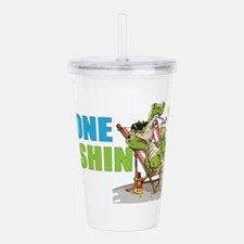 Gone Fishin Alligator Acrylic Double-Wall Tumbler