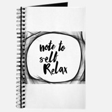 Note to self relax Journal