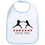 Fencing (red stars) Bib