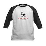 Farmer (red stars) Kids Baseball Jersey