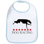 Dog Racing (red stars) Bib
