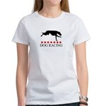 Dog Racing (red stars) Women's T-Shirt