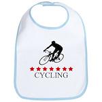 Cycling (red stars) Bib