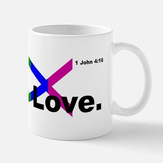 God is Love. Mugs