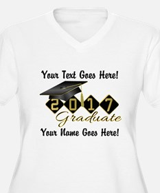 Graduate Black 2016 Plus Size T-Shirt