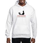 Computer Geek (red stars) Hooded Sweatshirt