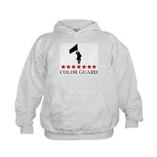 Color Guard (red stars) Hoodie