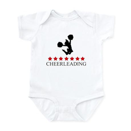 Cheerleading (red stars) Infant Bodysuit