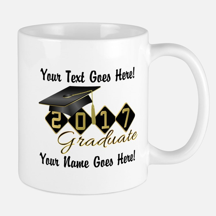 Graduate Black 2017 Mug