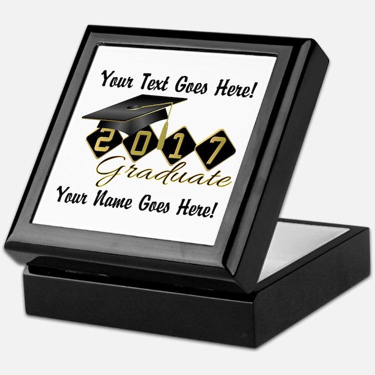 Graduate Black 2016 Keepsake Box