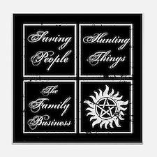 SPN Family Business Tile Coaster