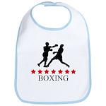 Boxing (red stars) Bib