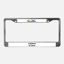 Cute Marriage equality License Plate Frame