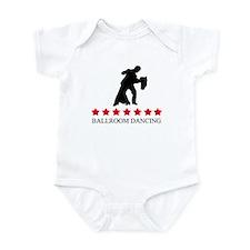 Ballroom Dancing (red stars) Infant Bodysuit