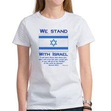 We Stand With Israel Tee