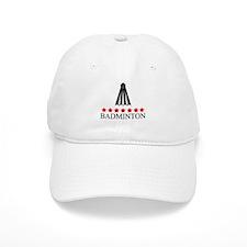 Badminton (red stars) Cap