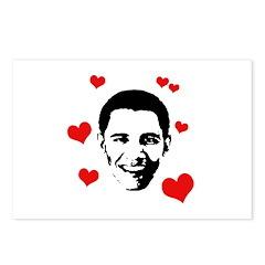 I heart Barack Obama Postcards (Package of 8)