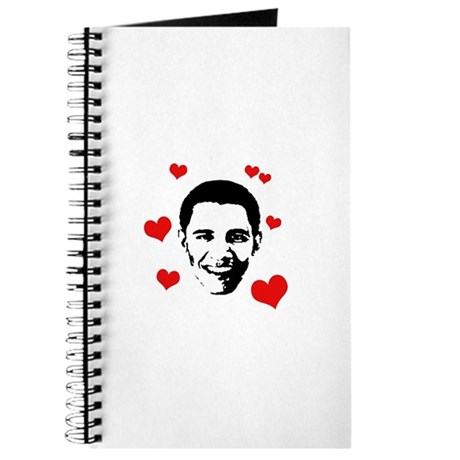 I heart Barack Obama Journal