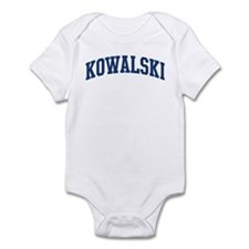 KOWALSKI design (blue) Infant Bodysuit